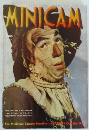 Minicam Magazine Scarecrow Wizard of Oz 1939