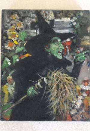 VIncent Myrand Wicked Witch of Oz Original Art