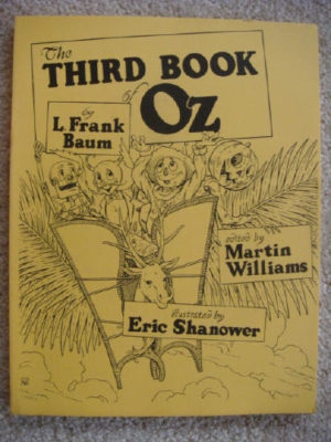 Third Book of Oz 1st Edition Visitors from Oz