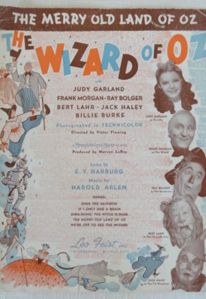 merry old land of oz sheet music
