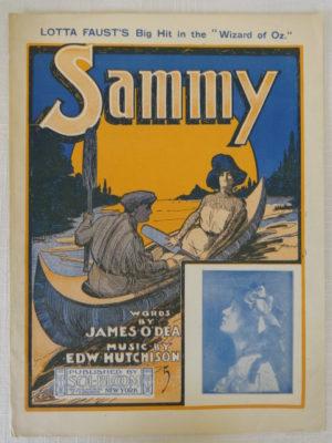 Sammy Wizard of Oz Sheet Music