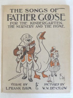 Songs of Father Goose book