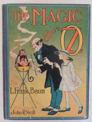 Magic of oz book