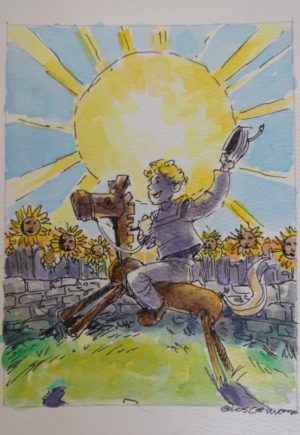Shadow of Oz Tarot Original Wizard of Oz Art