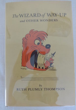 Wizard of Way Up Book Ruth Plumly Thompson