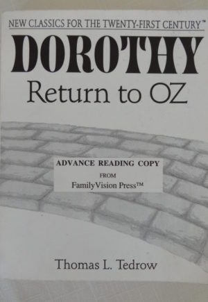 Dorothy Return to Oz Book Tedrow