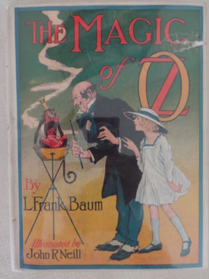 Magic of Oz Book in Dust Jacket
