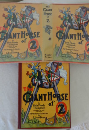 Giant Horse of Oz Book with Dust Jacket
