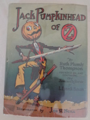 Jack Pumpkinhead of Oz Book