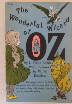Wonderful Wizard of Oz book Denslow Baum 1900 1960