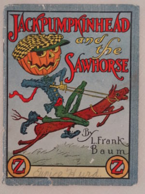 Jack Pumpkinhead and the Sawhorse Jello Book L Frank Baum