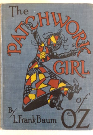 Patchwork Girl of Oz Book Vintage L Frank Baum