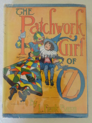 Patchwork Girl of Oz book in Dust Jacket