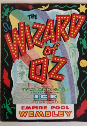 Wizard of Oz on Ice British UK program