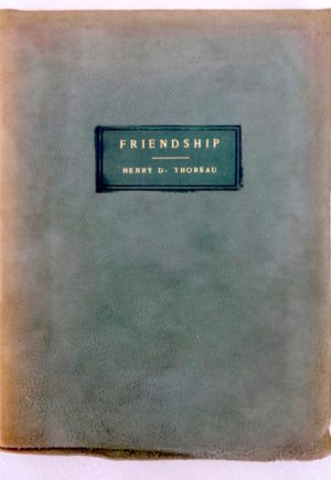 Friendship Suede Roycroft Book 1903