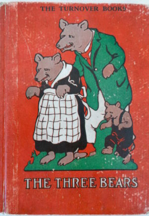 Three Bears John R Neill Turnover Book