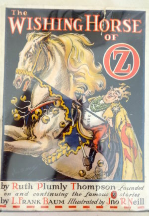 Wishing Horse of Oz book dust jacket ruth plumly thompson