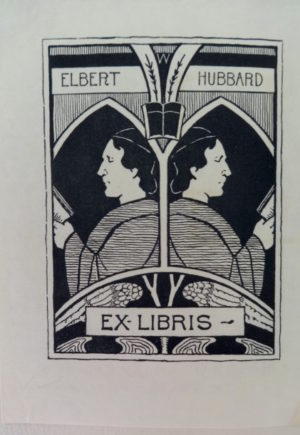 Roycroft Catalog DenslowI 1899 Elbert Hubbard Bookplate