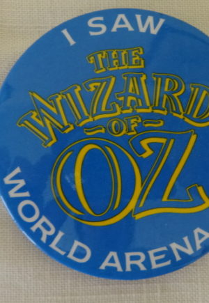 I Saw the Wizard of Oz World Tour Button