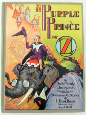 Purple Prince of Oz Ruth Plumly Thompson Book