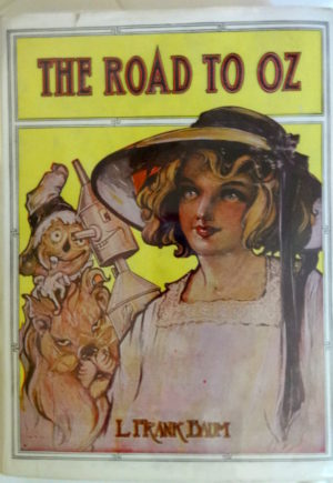 Road to Oz Book in Dust Jacket