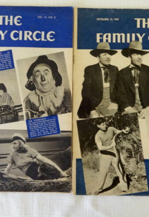 Family Circle Wizard of Oz Movie Magazine 1939