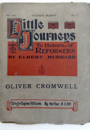 Little Journey Oliver Cromwell W W Denslow Roycroft Book
