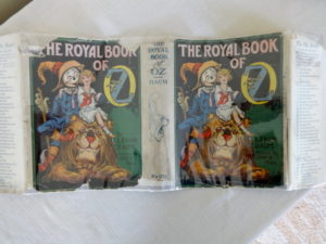 Royal Book of Oz Dust Jacket
