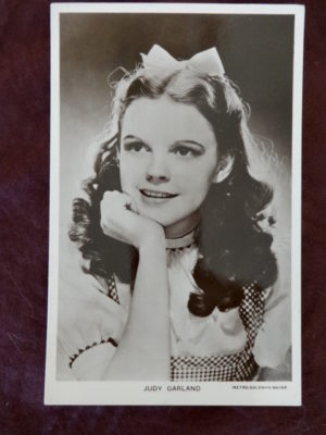 Judy Garland Dorothy Postcard 1939 Movie Real Photo