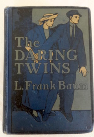 Daring Twins Book L Frank Baum 1st Edition