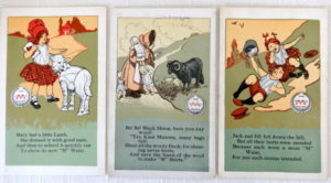 Denslow Imitator Postcards Mother Goose M Waist