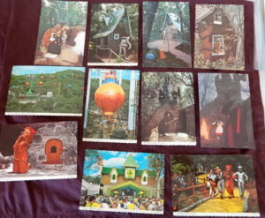 land of oz postcards large