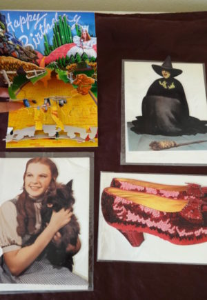 Wizard of Oz Popup Greeting Cards Vintage Dorothy Ruby Slippers