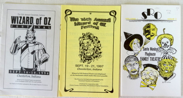 chesterton Wizard of Oz festival program