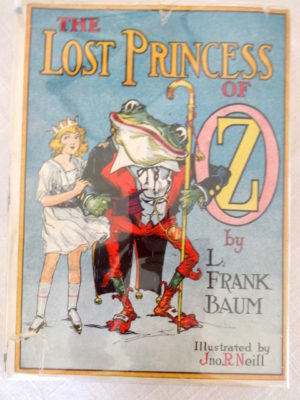 lost princess of oz book dust jacket Wizard of Oz reilly and lee