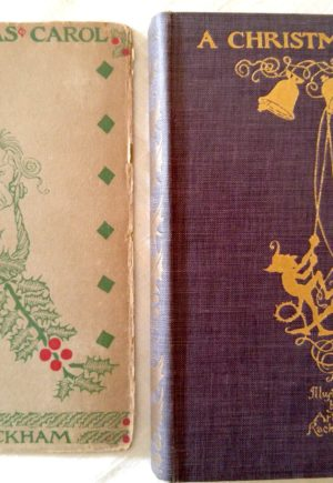 Rackham Christmas Carol Lippincott Book Dust Jacket