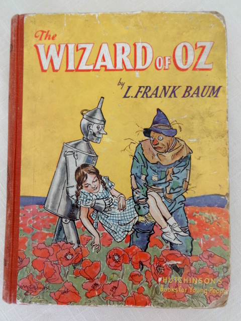 wizard of oz hutchinson book  sc 1 st  Wonderful Books of Oz & Sale: WIZARD OF OZ Book Hutchinson British Edition Book 1947 Color ...