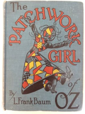 patchwork girl of oz book color