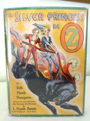 Vintage 1st Edn SILVER PRINCESS IN OZ w/ Dust Jacket Book Ruth Plumly Thompson 1938