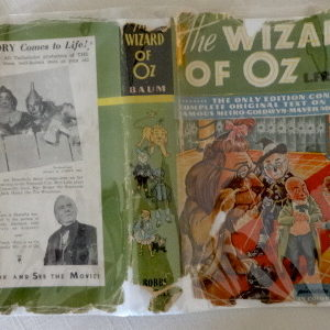 wizard of oz original oz book mgm movie