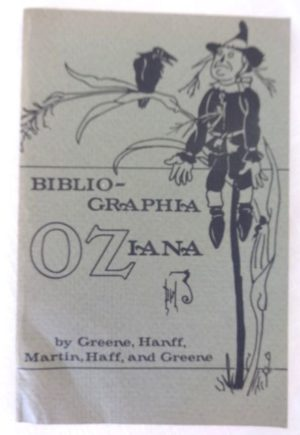 Bibliographia Oziana 1981 Wizard of Oz reference book