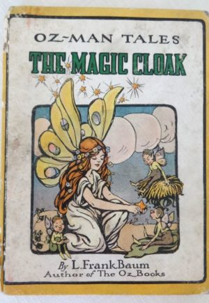 Magic Cloak Oz Man Tales L Frank Baum Book