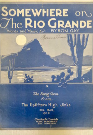 Somewhere on the Rio Grande Uplifters Sheet Music