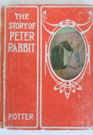 Story of Peter Rabbit Book John R Neill