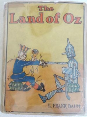 Land of Oz Dust Jacket BOok