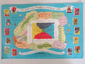 Magical World of Oz Wizard of Oz Book Map
