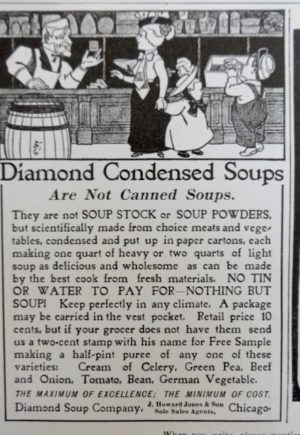 Denslow Diamond Condensed Milk Ad