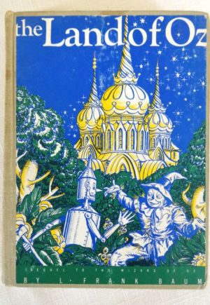 Land of Oz Book Blue Cover 1932