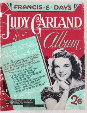 Judy Garland Album British 1940