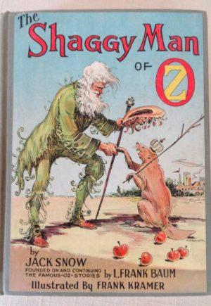 Shaggy Man 1st Edition Book